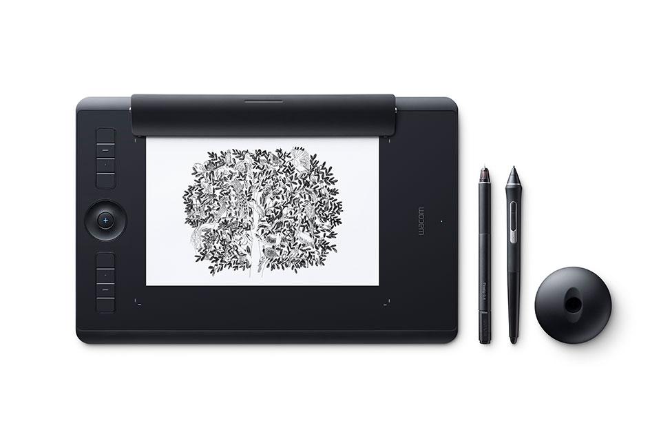 Wacom Intuos Pro Digital - Graphic Drawing Tablets ( Medium)