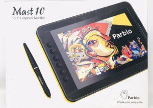 Parblo Mast10 10.1-escobars Graphic Drawing Tablets