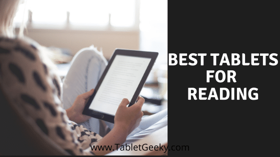 list of best tablet for reading