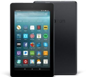 Amazon Fire 7- Best Budget Reading Tablet