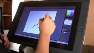 Wacom Cintiq 22HD-graphic tablet with pen