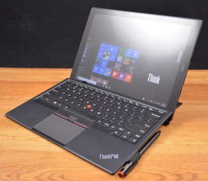 Lenovo ThinkPad X1 Tablet-gaming tablet with keyboard