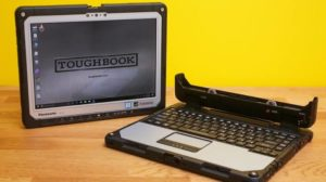 Panasonic Toughbook CF-33-millatry grade tablet with keyboard