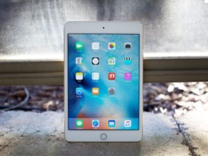 iPad mini 4 - best small tablets