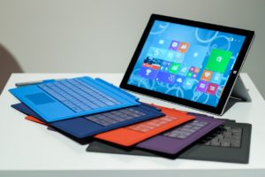 Microsoft surface 3- keyboard