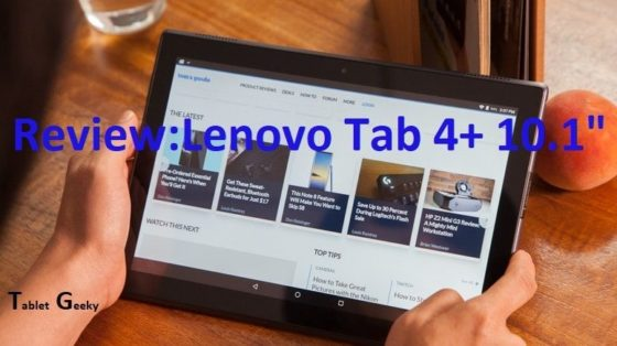 lenovo tab 4 plus review