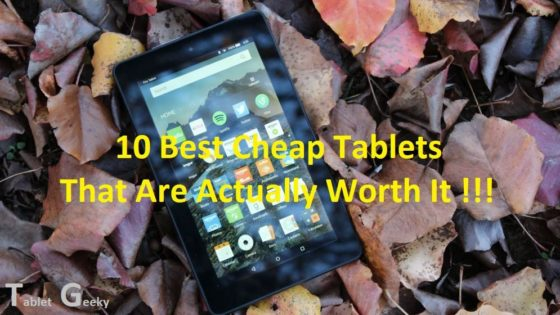 best cheap tablets