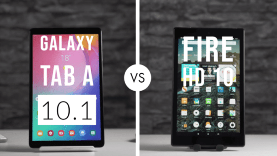 Amazon Fire HD 10 vs Samsung Galaxy Tab A 10.1