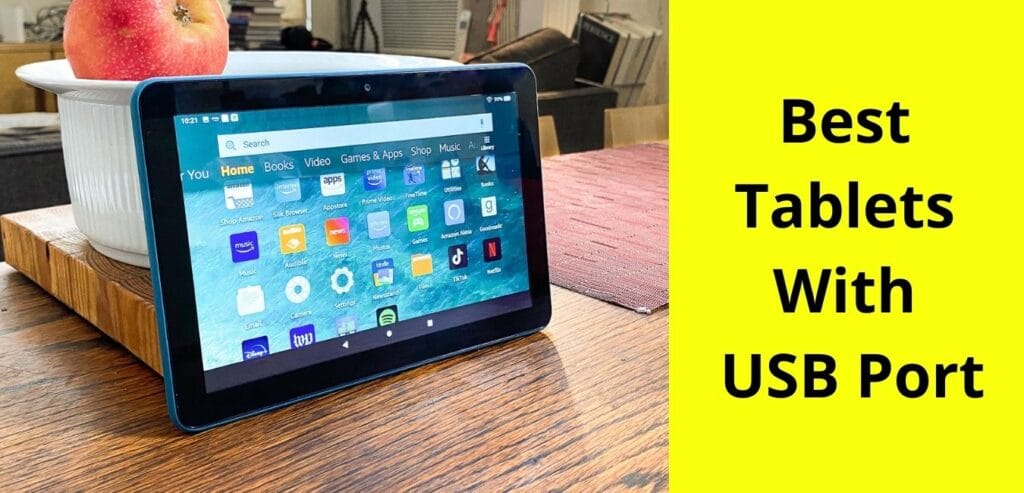 best tablets with USB port