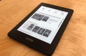 Kindle Paperwhite E-Reader first