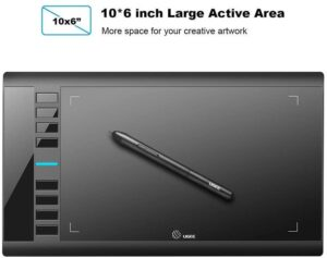 UGEE M708 Graphic Tablet features