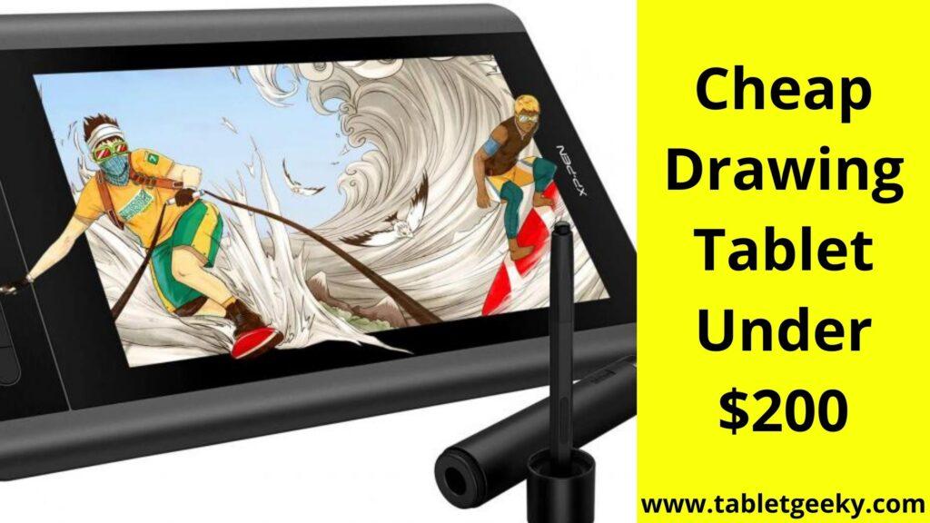 Best Drawing Tablet Under 200 Dollars