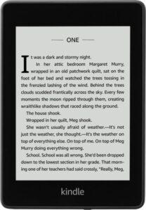 Kindle Paperwhite E-Reader display