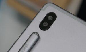 samsung tab s6 camera