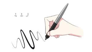 XP-Pen Deco Pro drawing
