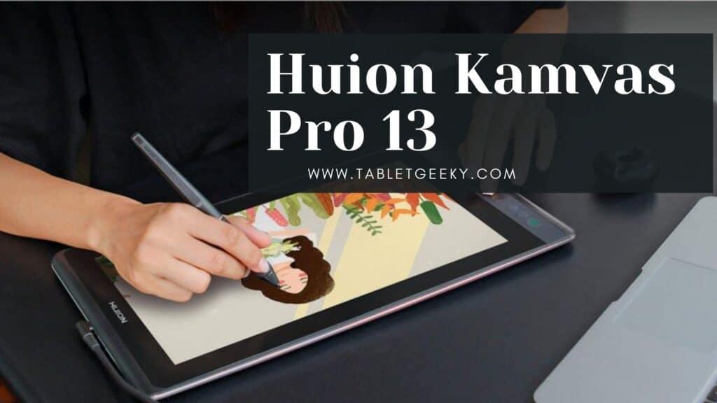 Huion Kamvas Pro 13