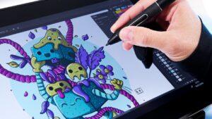 Huion Kamvas Pro 16 drawing
