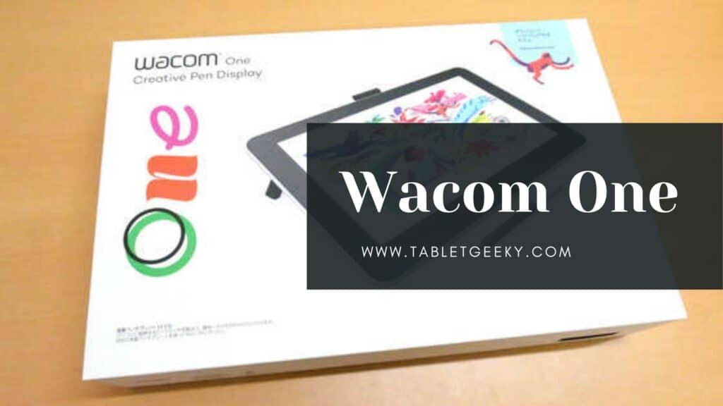 Wacom One review