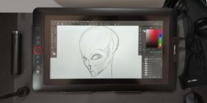 XP Pen Artist 12 Pro design
